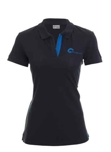 Panthzer  Teslin Kadın Polo T-Shirt Lacivert